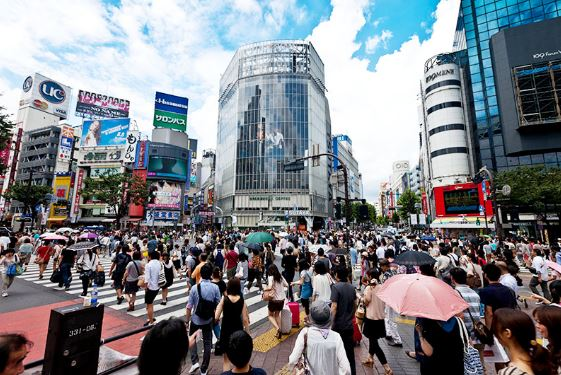 Những con phố đặc biệt tại Nhật Bản