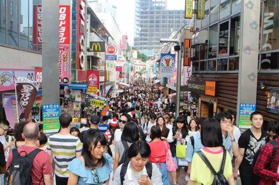 Toàn cảnh phố phụ kiện Takeshita