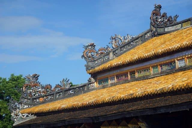 Những nét kiến trúc độc đáo tại Điện (Ảnh ST)