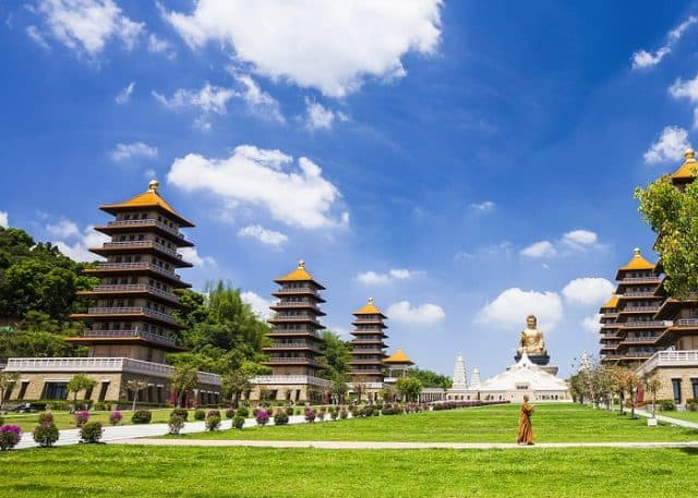 Phật Quang Sơn Tự - ngôi chùa nổi tiếng của Đài Loan (Ảnh ST)