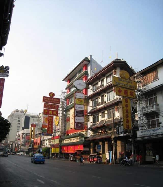 Khu phố người Hoa lớn nhất châu Á ở Thái Lan (Ảnh: ST)
