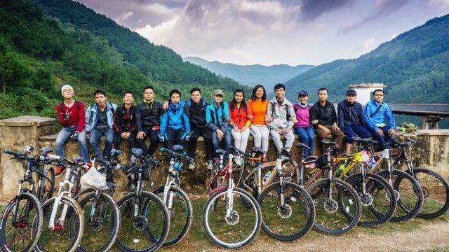 Phượt hồ Xạ Hương