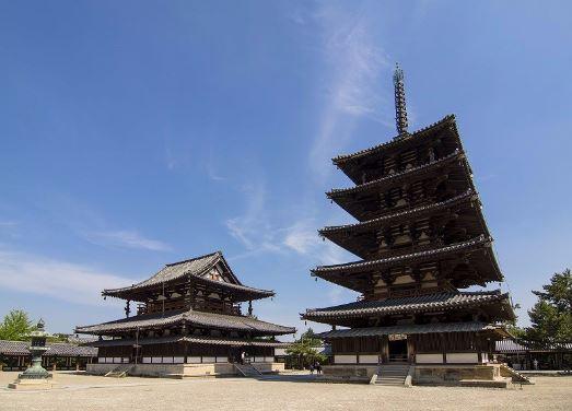 quần thể kiến trúc chùa Horyuji