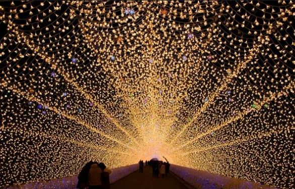 lễ hội ánh sáng sendai