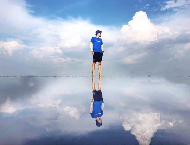 """""""Cực hot"""" với Sky Mirror ở Malaysia - Gương mặt trời khổng lồ"""