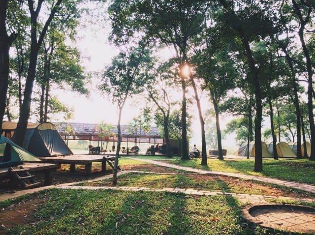 Kinh nghiệm cắm trại ở Sơn Tinh Camp