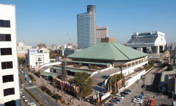Toàn cảnh khu phố Sumo Ryogoku