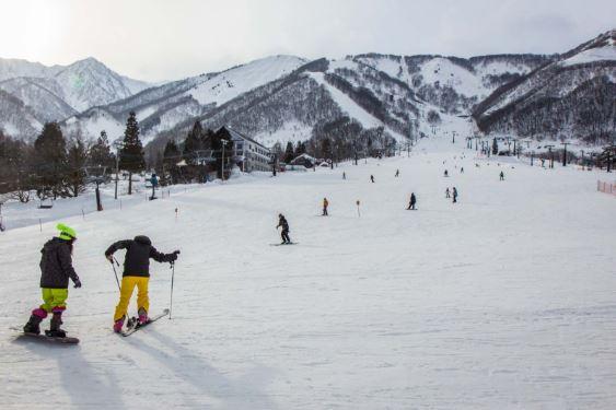 du lịch trượt tuyết nhật bản