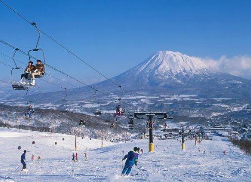 trượt tuyết núi Phú Sỹ