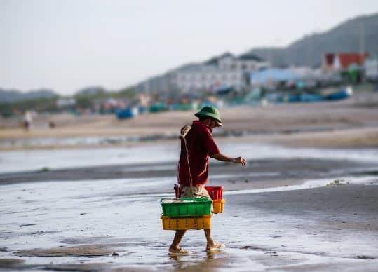 fishermen of Phuoc Hai fishing village