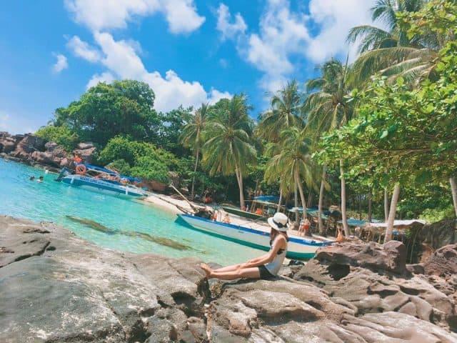 Hòn móng tay mệnh danh là hòn đảo ma của Phú Quốc (ảnh ST)