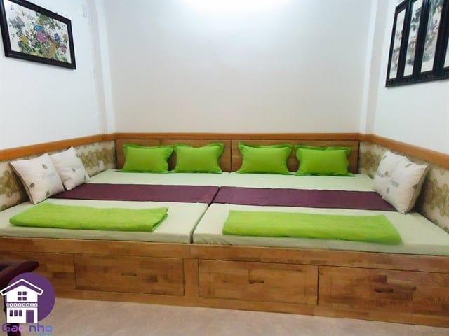 Phòng ngủ của gác nhỏ homestay (ảnh ST)