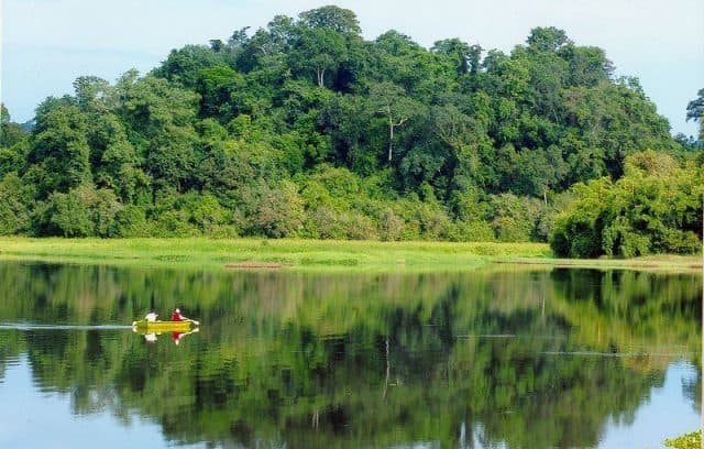 Charming landscape of Cat Tien National Park