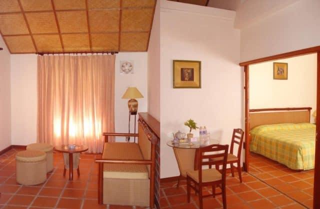Phòng ngủ của resort Cần Giờ (Ảnh ST)