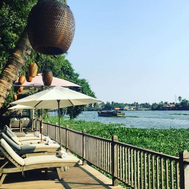 Địa điểm du lịch Resort tại Sài Gòn ở An Lam Saigon River Residence (Ảnh ST)