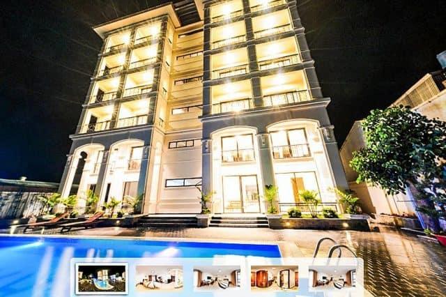 Khách sạn nằm ngay mặt đường của Thành Phố (Ảnh ST)