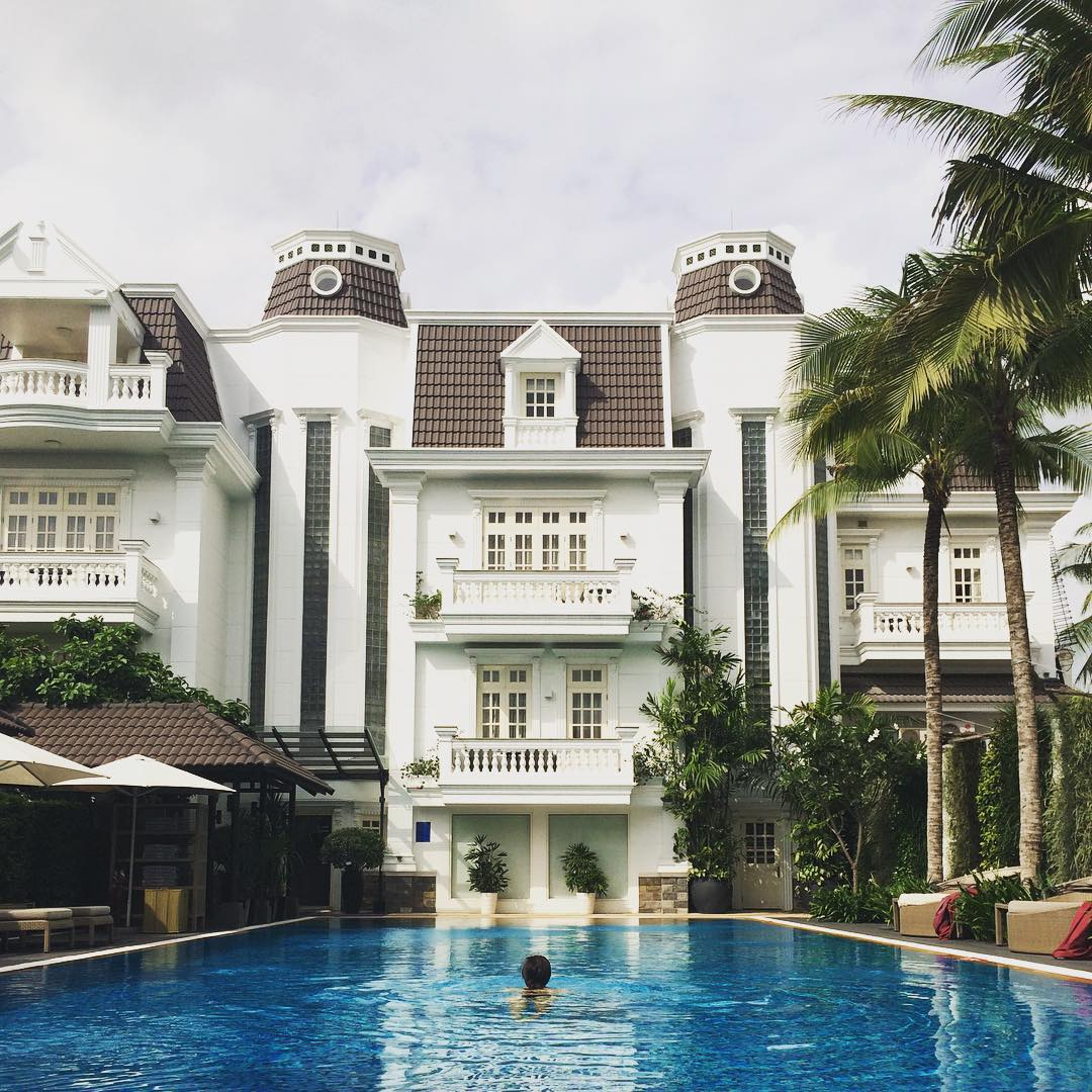 Khu resort Villa Song Saigon (Ảnh ST)