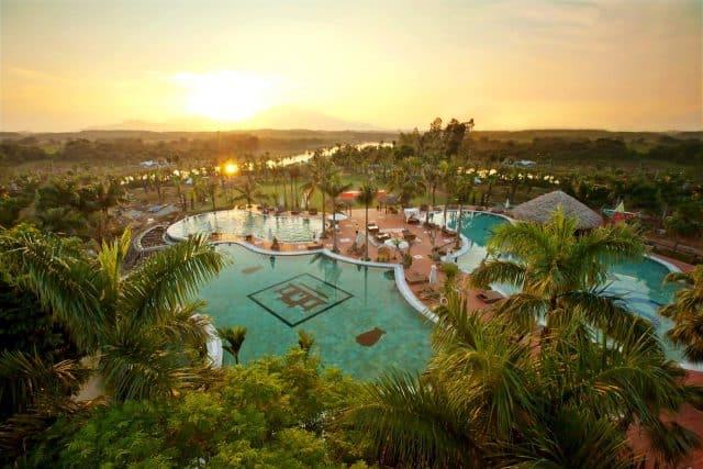 Khu nghỉ dưỡng Asean Resort (Ảnh: ST)