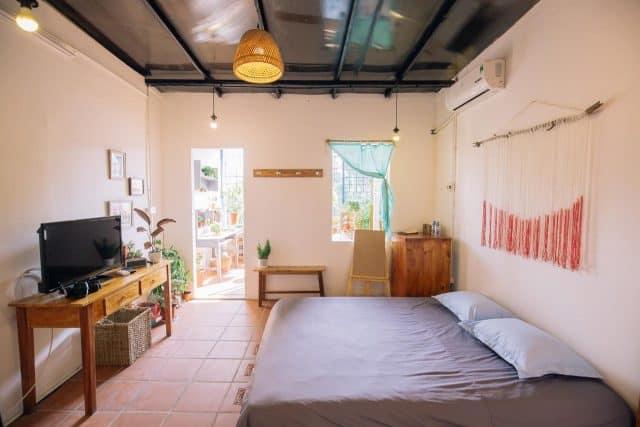 Homestay gần Hà Nội giá rẻ với thiết kế độc đáo (Ảnh: ST)