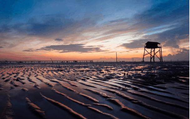 Biển Tân Thành hút hồn du khách tới thăm Tiền Giang