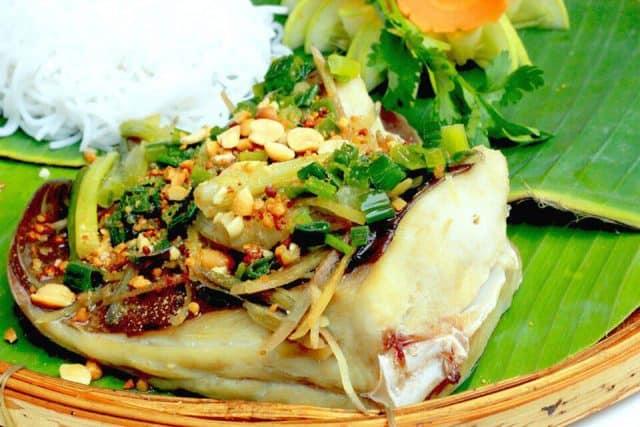 Đặc sản Bình Thuận: Cá lồi xối mỡ