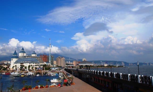 Cảng biển Tam Sui của Đài Bắc