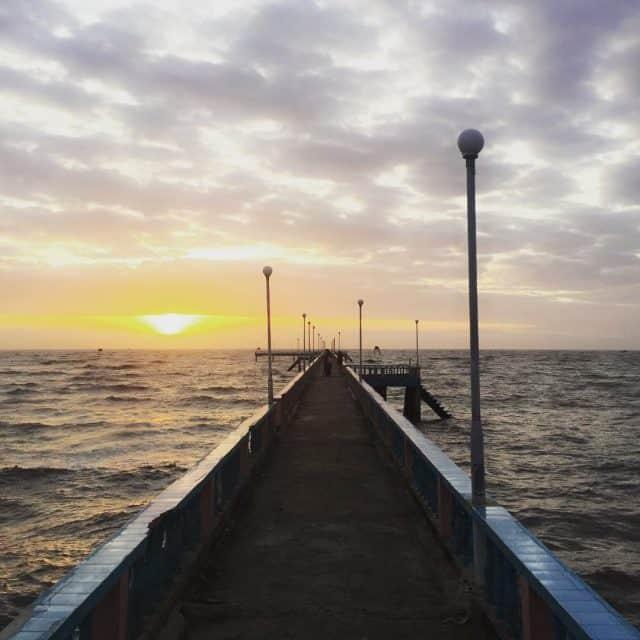 Biển Tân Thành một sớm tinh mơ (ảnh ST)