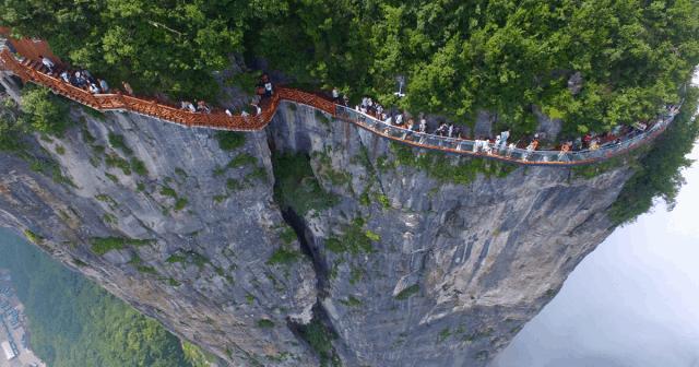 Skywalk - công trình kiến trúc đáng tự hào của Trung Quốc (ảnh ST)