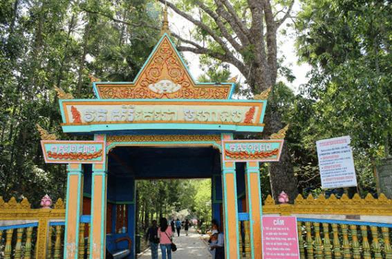 Hình ảnh chùa Dơi Sóc Trăng (ảnh ST)