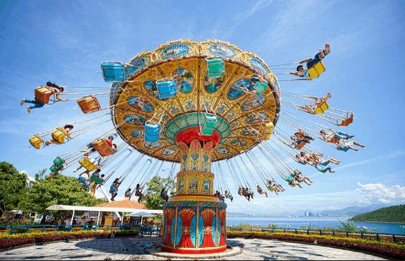 Công viên Thỏ Trắng là điểm vui chơi lí tưởng cho cả gia đình (ảnh ST)
