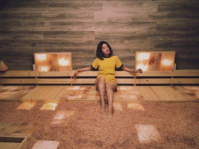 """""""Sốt rần rần"""" phòng xông hơi D'Lats Sauna xịn như Hàn ở Đà Lạt"""