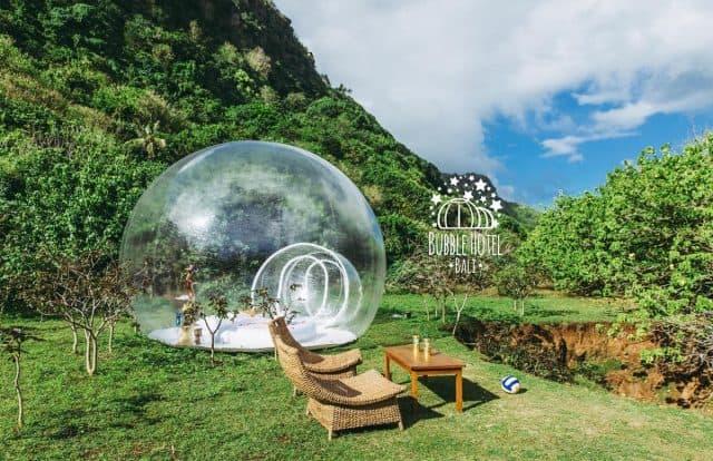 """""""Sống ảo nghìn like"""" tại Khách sạn bong bóng Bali có 1-0-2"""