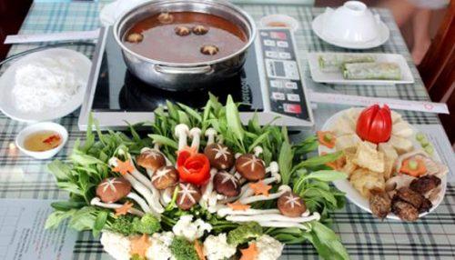 Món lẩu Thái chay được yêu thích (ảnh ST)