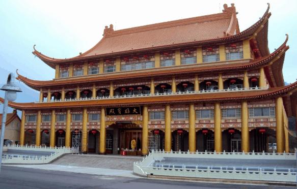 Linh Nham Sơn Tự - ngôi chùa Đài Loan tuy cổ nhưng không cũ (ảnh ST)