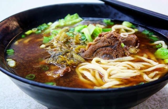 Mì bò Đài Loan (ảnh ST)