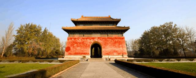 Một công trình kiến trúc trong quần thể Thập Tam Lăng Trung Quốc (ảnh ST)