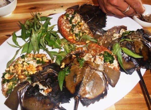 Món ăn từ sam biển (ảnh ST)