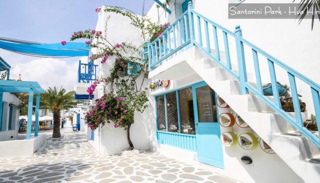 Santorini Park Thái Lan - Thiên đường Hy Lạp mộng mơ thu nhỏ
