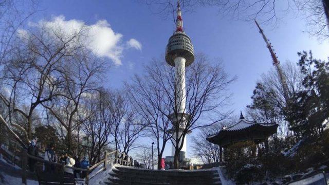 Địa điểm nổi tiếng ở Hàn Quốc (Ảnh: ST)
