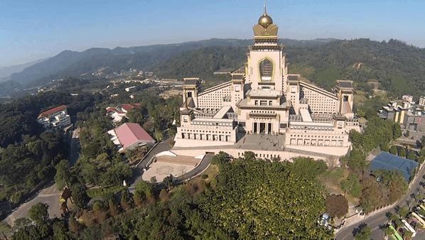 Kiến trúc của ngôi chùa lớn Đài Loan từng được ngợi khen khắp đó đây (ảnh ST)