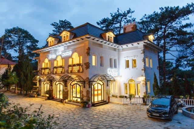 Khách sạn Đà Lạt có kiến trúc phương tây
