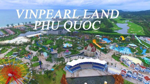 Địa điểm du lịch ăn chơi Phú Quốc nổi tiếng -Vinpearl Land Phú Quốc (ảnh ST)