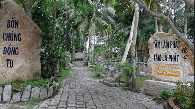 Di tích độc đáo của Vĩnh Long (ảnh ST)