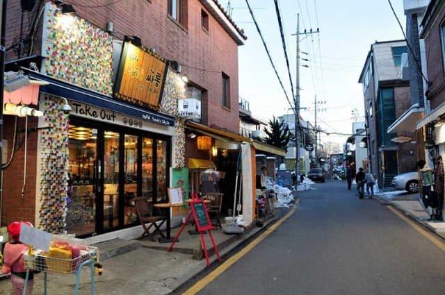 phố cổ Samcheong-dong seoul (ảnh ST)