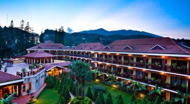 Khung cảnh của resort Victoria Sapa Resort & Spa(Ảnh ST)