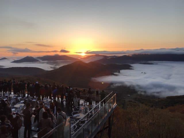 Unkai Terrace - đài quan sát biển mây