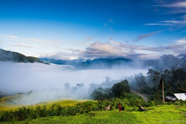Hình ảnh sương - mây mờ ảo đến mê hoặc lòng người