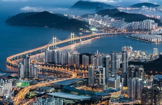 Cây cầu trên biển Gwangalli