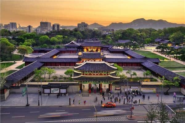 Cung điện lớn nhất Gyeongbokgung Hàn Quốc