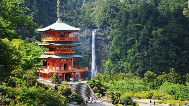 Thác Nachi - Vẻ Đẹp Thác Nước Cao Nhất Nhật Bản (ảnh ST)